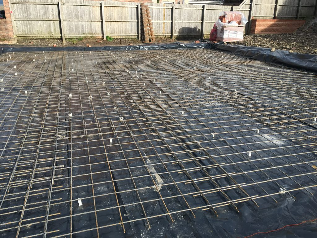Maxiom Plot 9 Steel to foundations