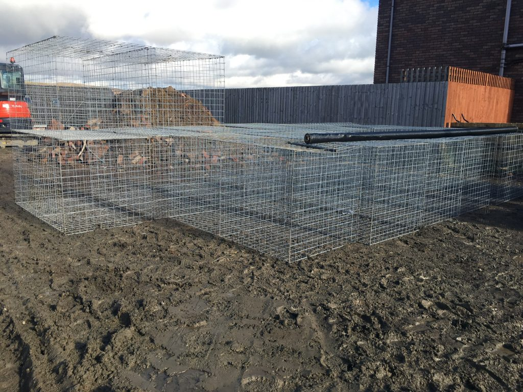 Maxiom Plot 35 Creating gabion baskets
