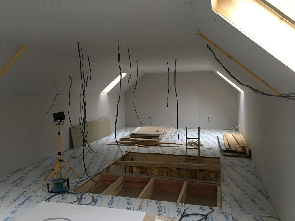 Maxiom Plot 9 Plasterboarded